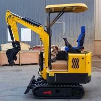 最小挖掘机鲁亚特11高配钩机挖土机挖掘机多功能农用果园家用1吨