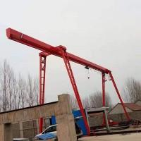 大型龙门吊起重机MH型5吨花架龙门吊10吨衍架型单梁门式起重机